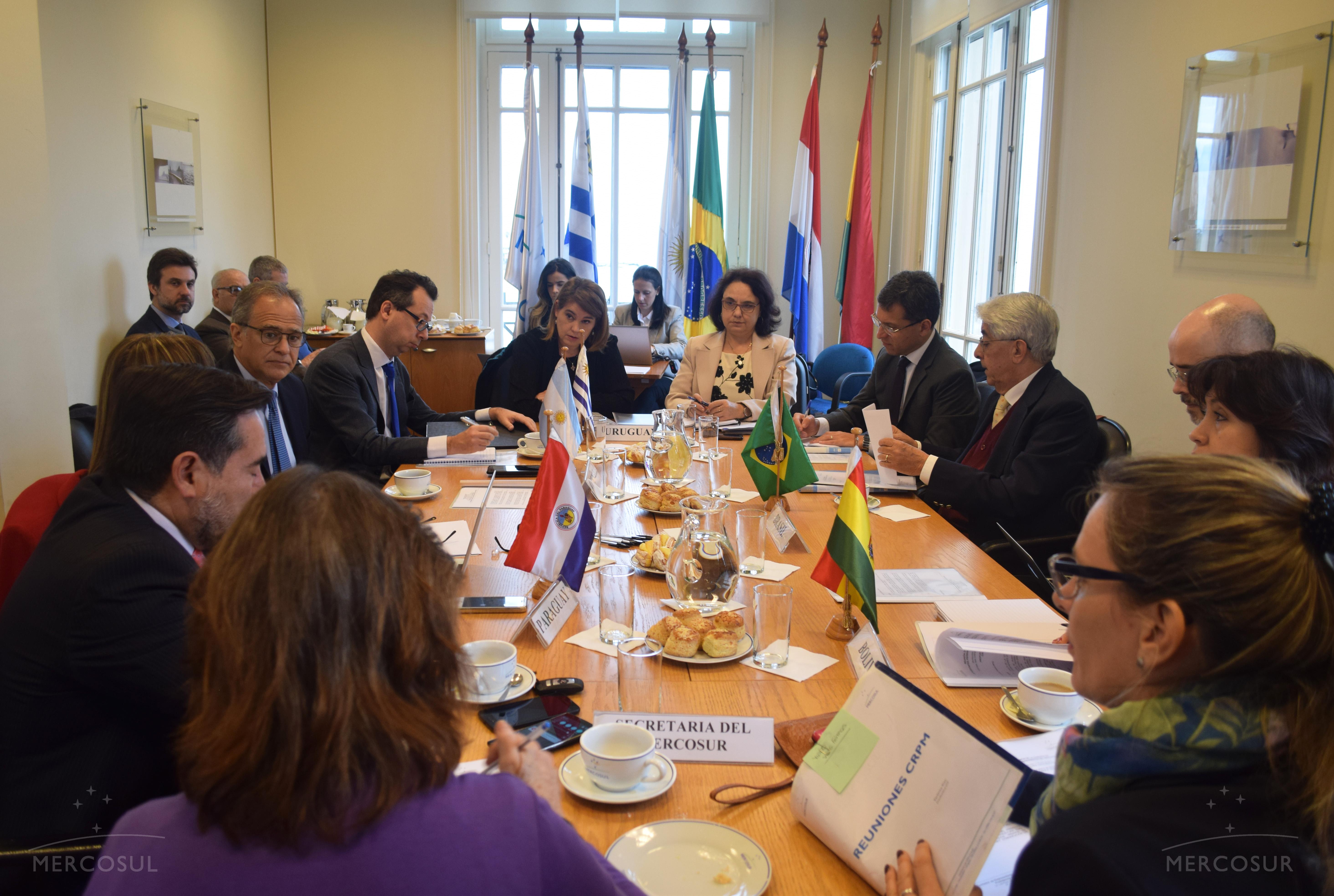 Uruguay presidió reunión de la Comisión de Representantes