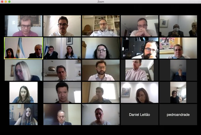 Reunión Virtual Coordinadores